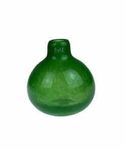 Vase Dutz in grün und rund